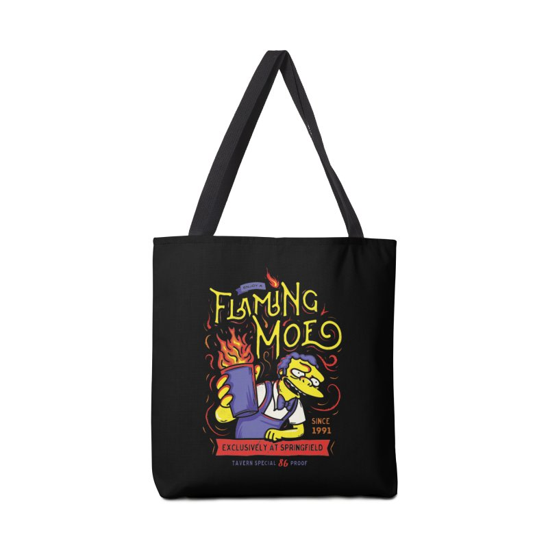 Flaming Moe Accessories Bag by coddesigns's Artist Shop