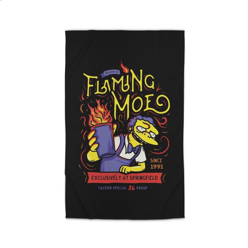 Flaming Moe Home Rug by coddesigns's Artist Shop