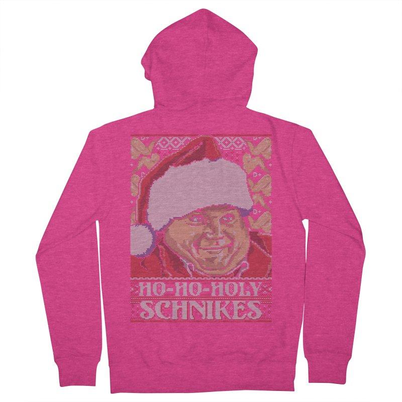 Ho Ho Holy Schnikes Women's Zip-Up Hoody by coddesigns's Artist Shop