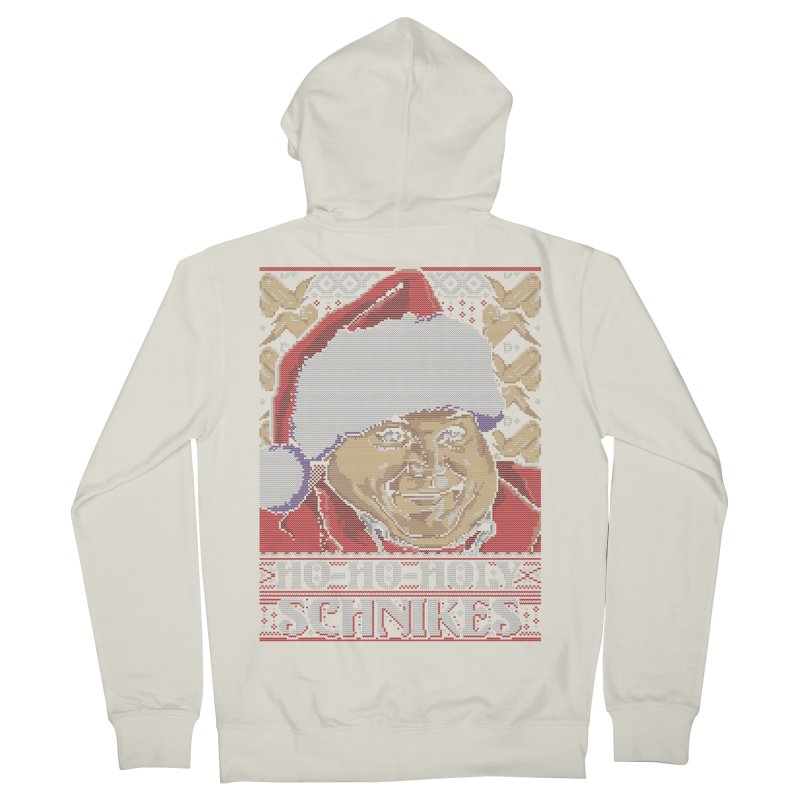 Ho Ho Holy Schnikes Women's Zip-Up Hoody by coddesigns's Artist Shop