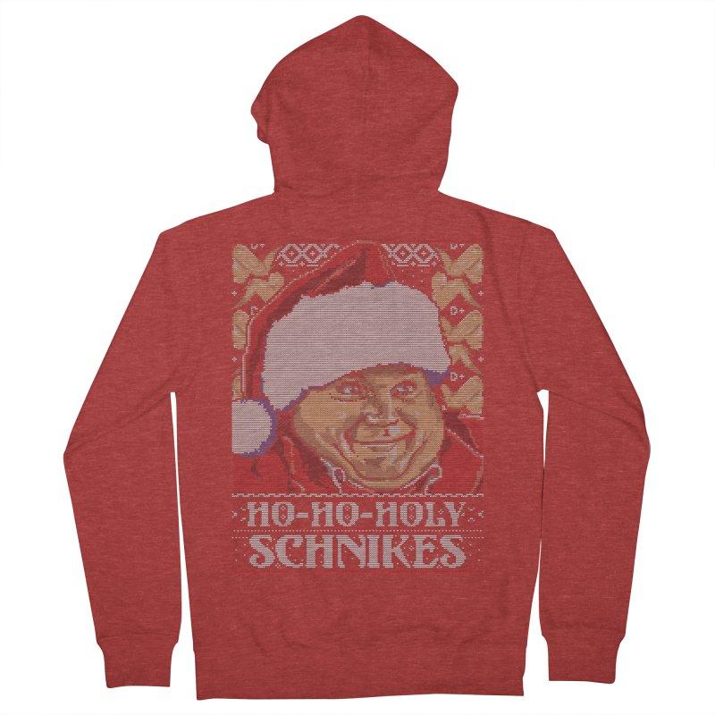 Ho Ho Holy Schnikes Men's Zip-Up Hoody by coddesigns's Artist Shop
