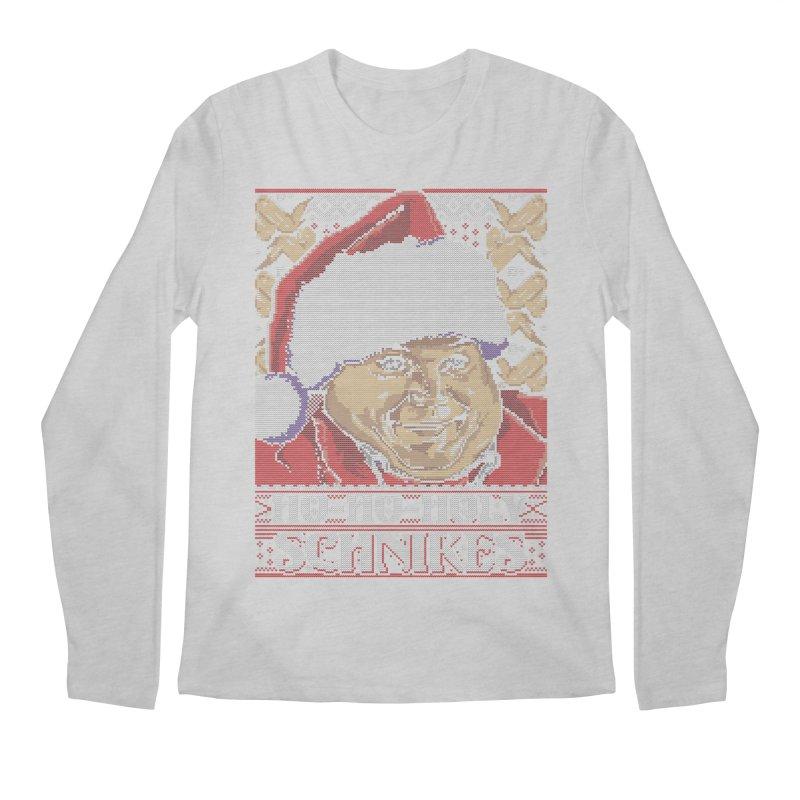 Ho Ho Holy Schnikes Men's Longsleeve T-Shirt by coddesigns's Artist Shop