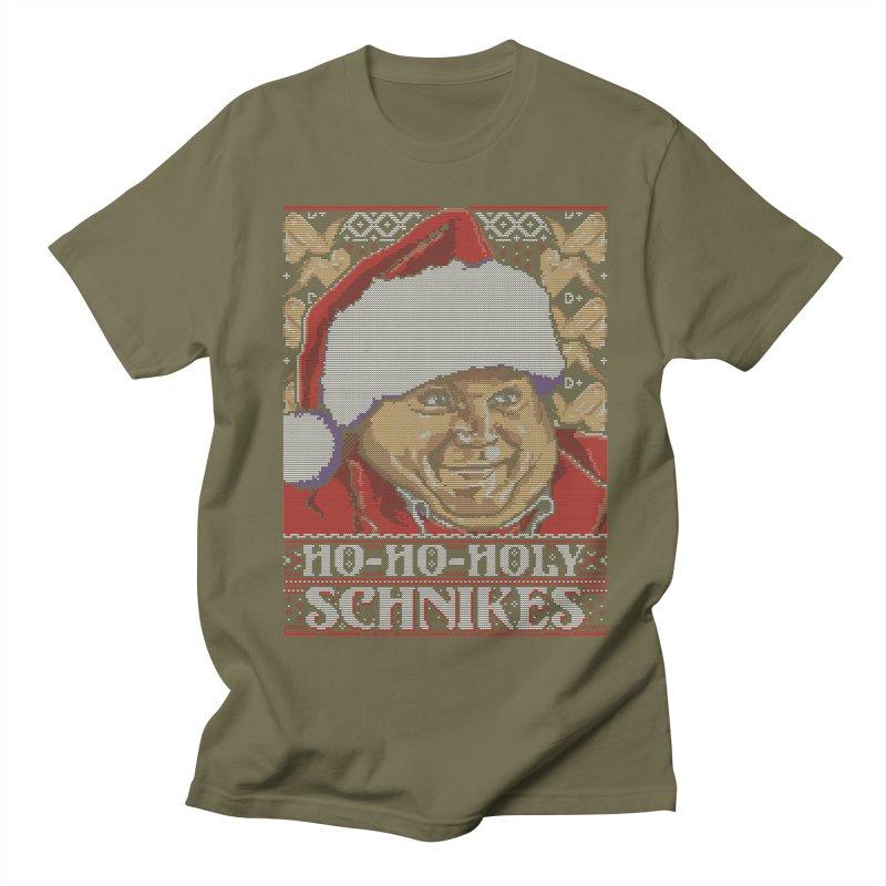 Ho Ho Holy Schnikes Men's T-shirt by coddesigns's Artist Shop