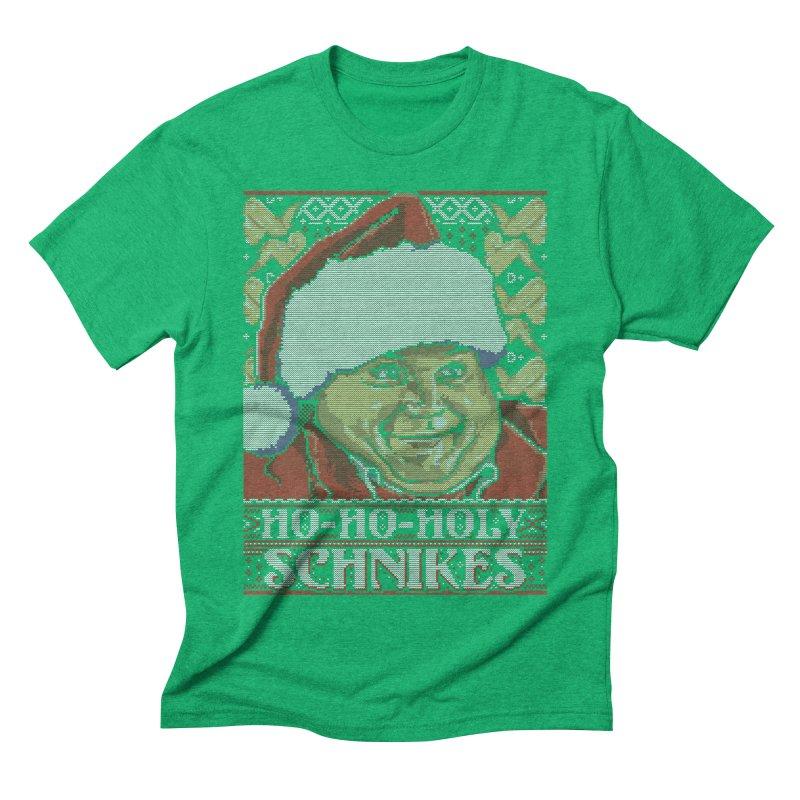 Ho Ho Holy Schnikes Men's Triblend T-Shirt by coddesigns's Artist Shop