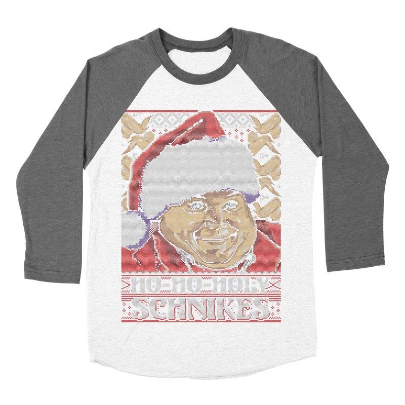 Ho Ho Holy Schnikes Men's Baseball Triblend T-Shirt by coddesigns's Artist Shop