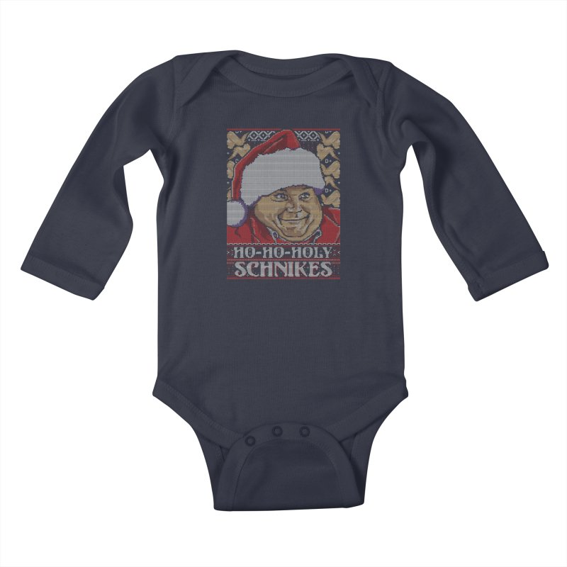 Ho Ho Holy Schnikes Kids Baby Longsleeve Bodysuit by coddesigns's Artist Shop