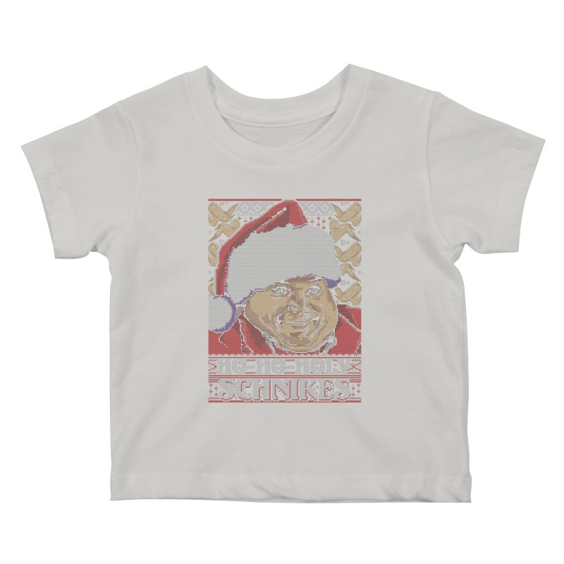Ho Ho Holy Schnikes Kids Baby T-Shirt by coddesigns's Artist Shop