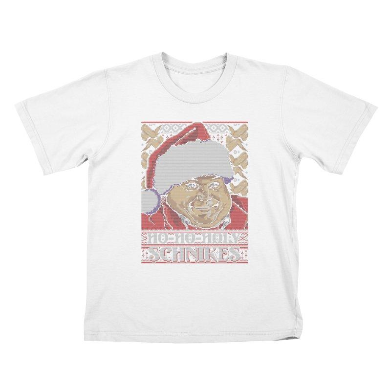 Ho Ho Holy Schnikes Kids T-shirt by coddesigns's Artist Shop