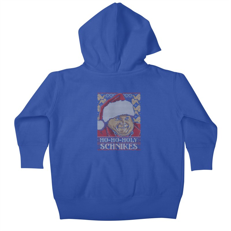 Ho Ho Holy Schnikes Kids Baby Zip-Up Hoody by coddesigns's Artist Shop