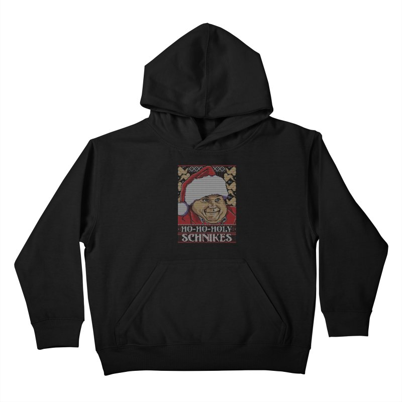 Ho Ho Holy Schnikes Kids Pullover Hoody by coddesigns's Artist Shop