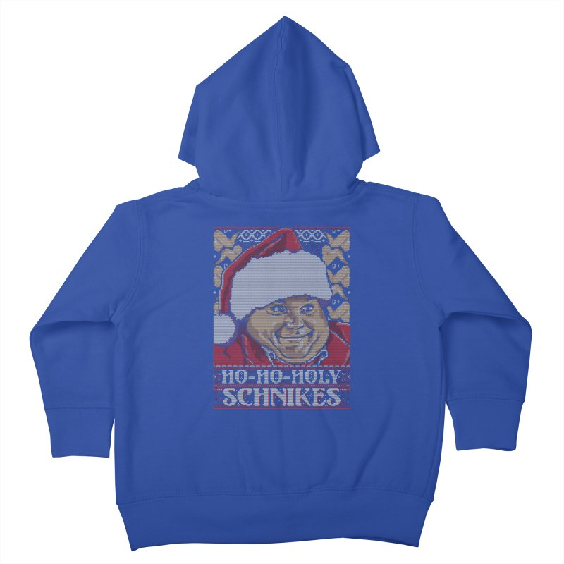 Ho Ho Holy Schnikes Kids Toddler Zip-Up Hoody by coddesigns's Artist Shop