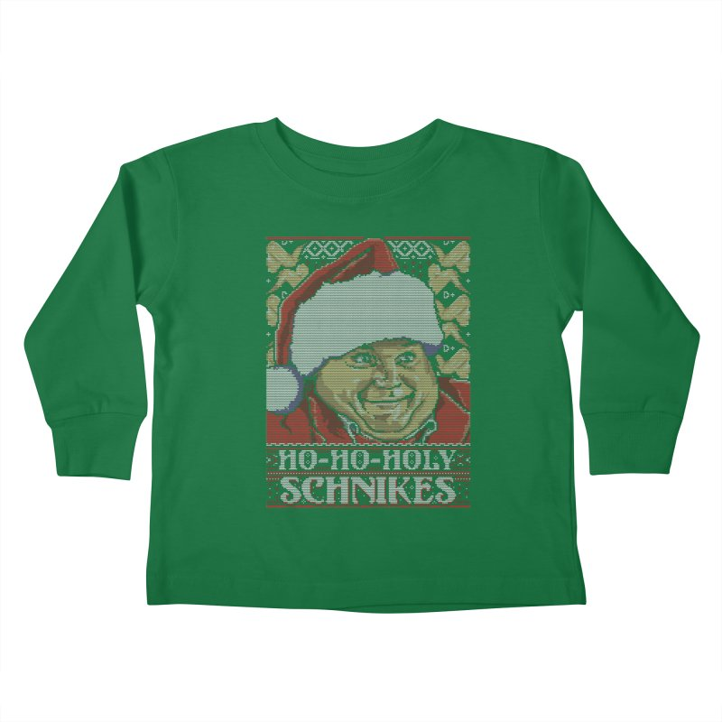 Ho Ho Holy Schnikes Kids Toddler Longsleeve T-Shirt by coddesigns's Artist Shop