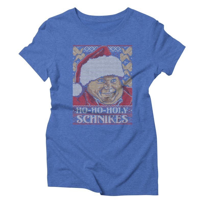 Ho Ho Holy Schnikes Women's Triblend T-shirt by coddesigns's Artist Shop