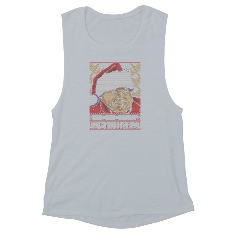 Ho Ho Holy Schnikes Women's Muscle Tank by coddesigns's Artist Shop