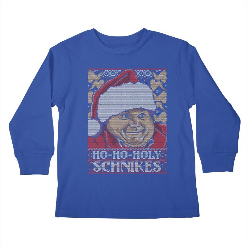 Ho Ho Holy Schnikes Kids Longsleeve T-Shirt by coddesigns's Artist Shop