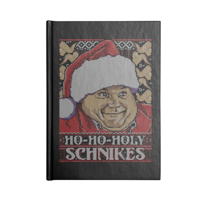 Ho Ho Holy Schnikes Accessories Notebook by coddesigns's Artist Shop