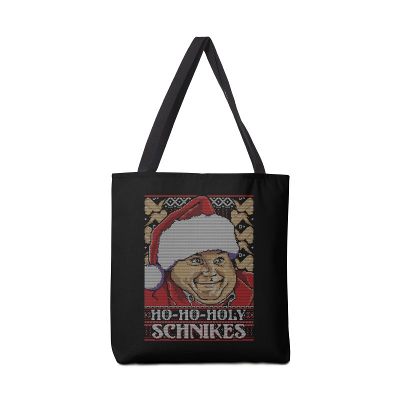 Ho Ho Holy Schnikes Accessories Bag by coddesigns's Artist Shop