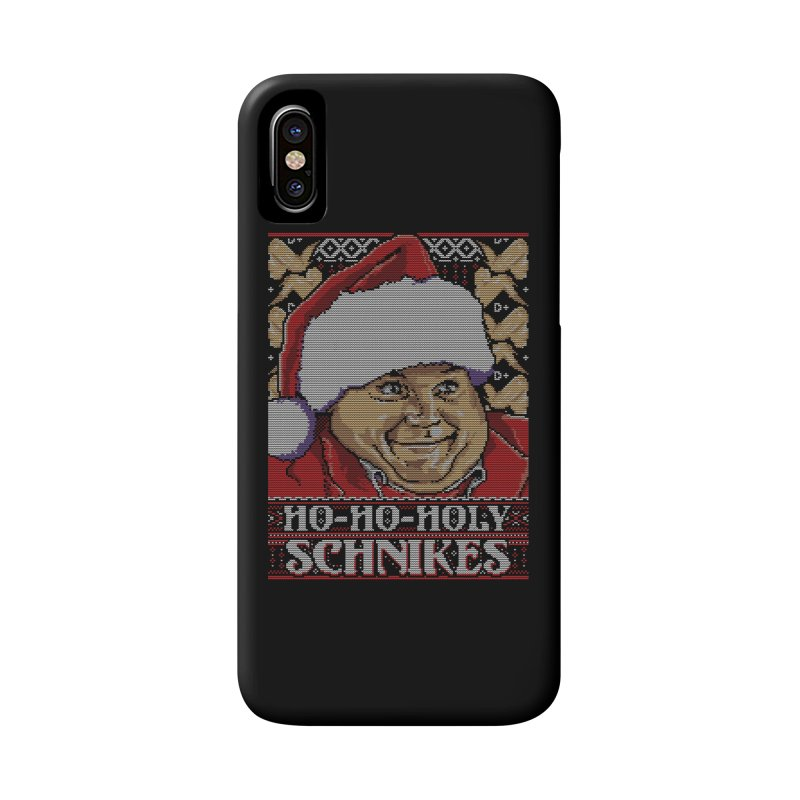 Ho Ho Holy Schnikes Accessories Phone Case by coddesigns's Artist Shop