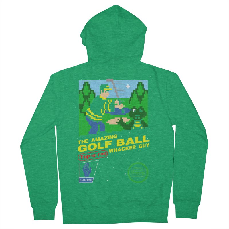 Happy Golf Women's Zip-Up Hoody by coddesigns's Artist Shop