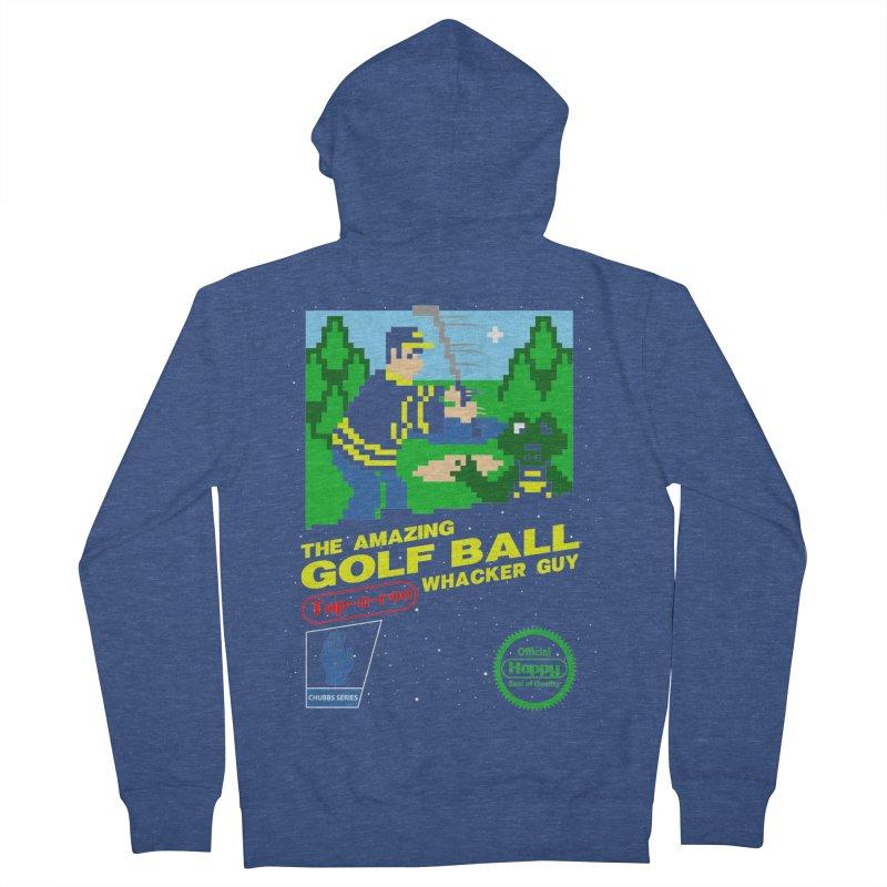 Happy Golf Women's Zip-Up Hoody by coddesigns's Artist Shop