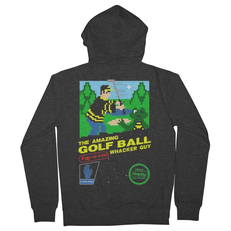 Happy Golf Men's Zip-Up Hoody by coddesigns's Artist Shop