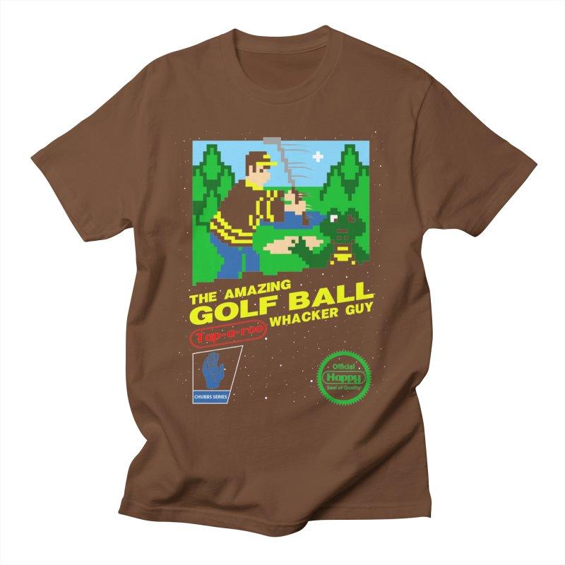 Happy Golf Women's Unisex T-Shirt by coddesigns's Artist Shop