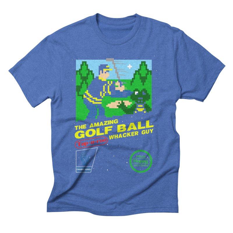 Happy Golf Men's Triblend T-shirt by coddesigns's Artist Shop