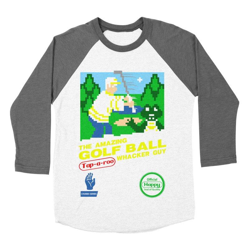 Happy Golf Women's Baseball Triblend T-Shirt by coddesigns's Artist Shop