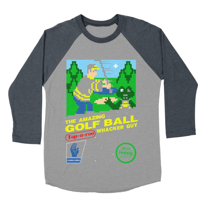 Happy Golf Men's Baseball Triblend T-Shirt by coddesigns's Artist Shop