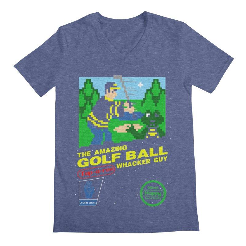 Happy Golf Men's V-Neck by coddesigns's Artist Shop