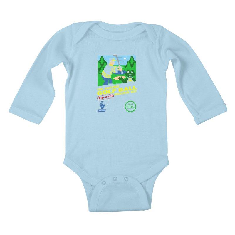 Happy Golf Kids Baby Longsleeve Bodysuit by coddesigns's Artist Shop