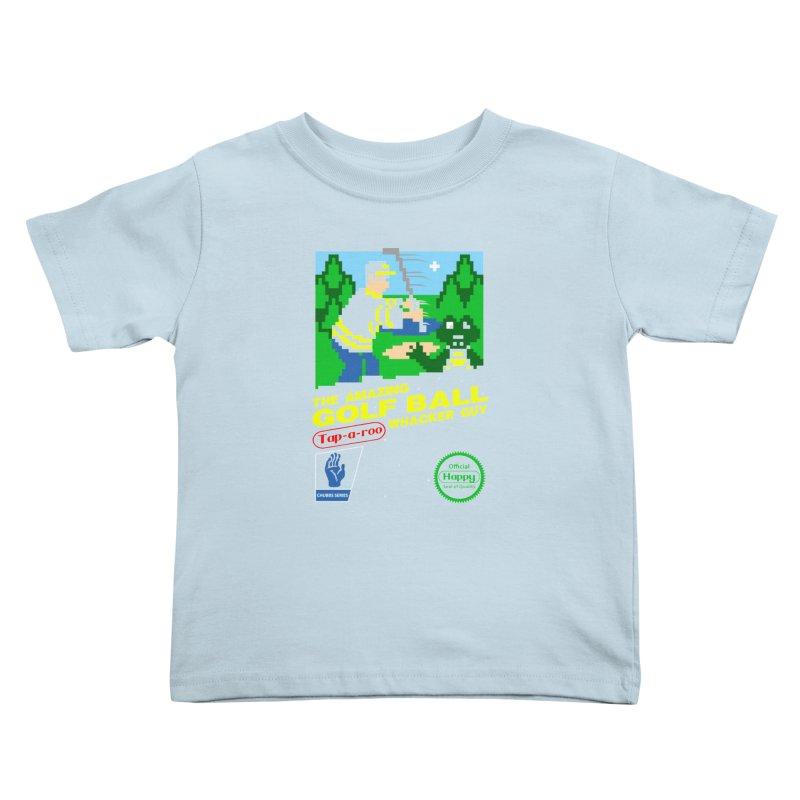 Happy Golf Kids Toddler T-Shirt by coddesigns's Artist Shop