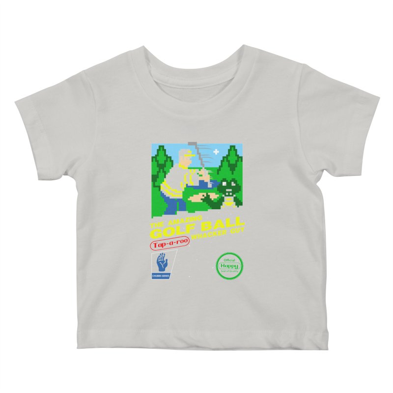 Happy Golf Kids Baby T-Shirt by coddesigns's Artist Shop