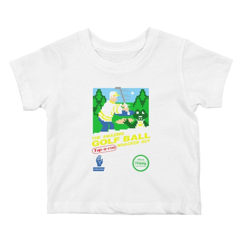 Happy Golf Kids Baby T-Shirt by coddesigns's Artist Shop
