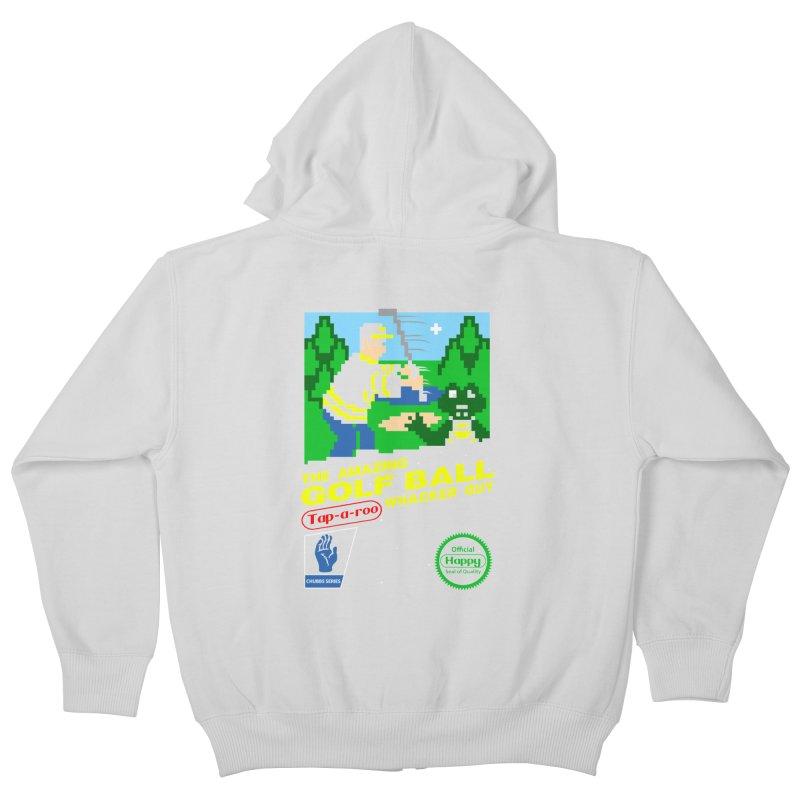 Happy Golf Kids Zip-Up Hoody by coddesigns's Artist Shop