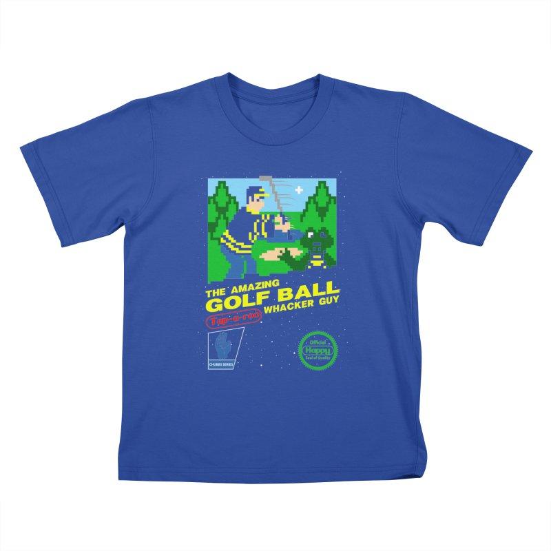 Happy Golf Kids T-Shirt by coddesigns's Artist Shop