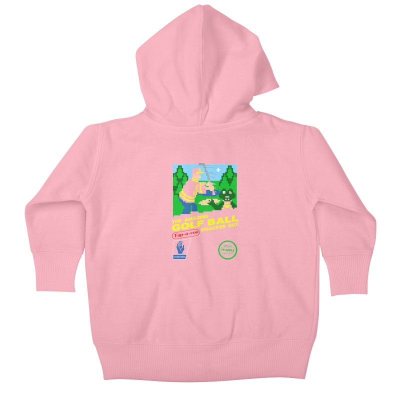 Happy Golf Kids Baby Zip-Up Hoody by coddesigns's Artist Shop