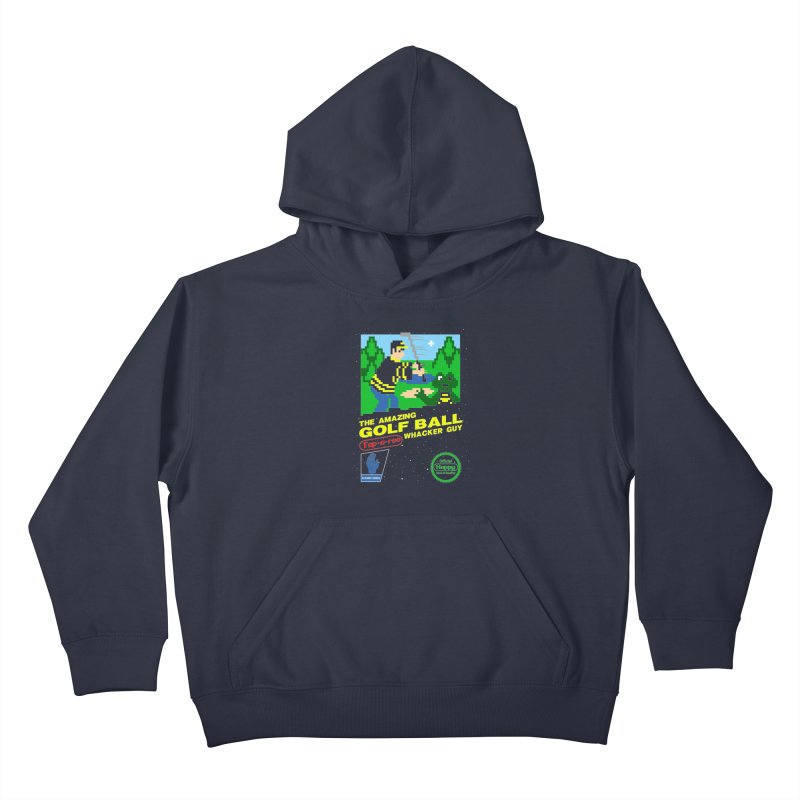 Happy Golf Kids Pullover Hoody by coddesigns's Artist Shop