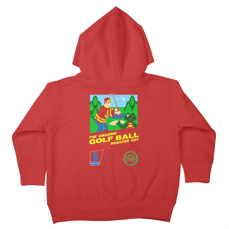 Happy Golf Kids Toddler Zip-Up Hoody by coddesigns's Artist Shop