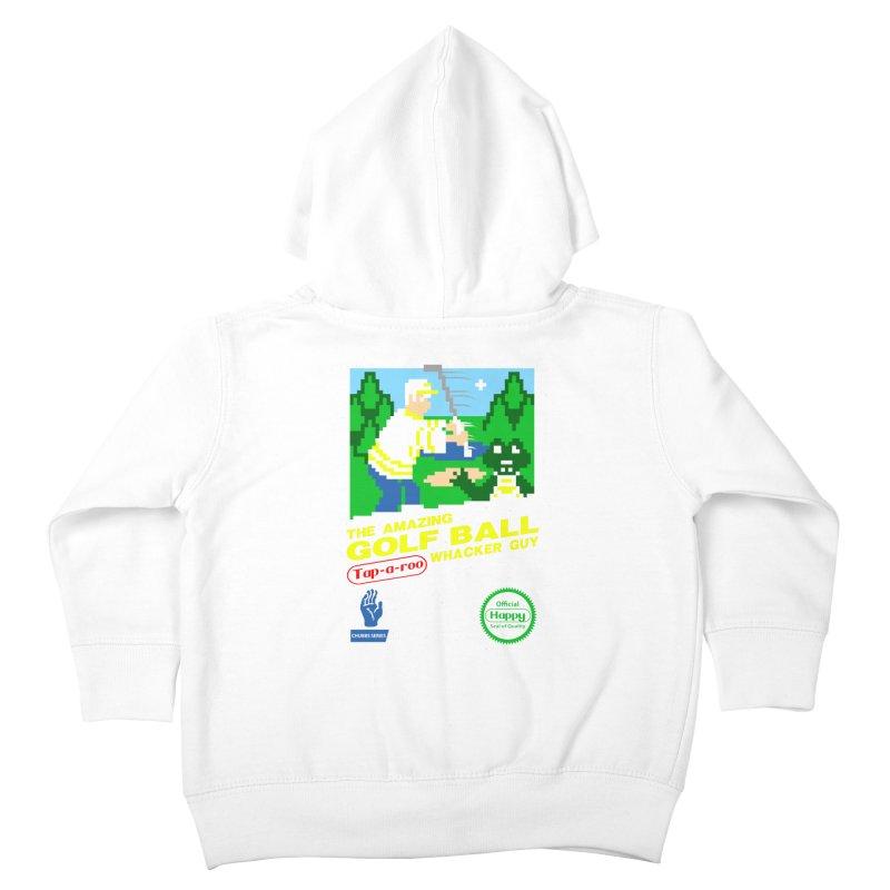 Happy Golf Kids Toddler Zip-Up Hoody by coddesigns's Artist Shop