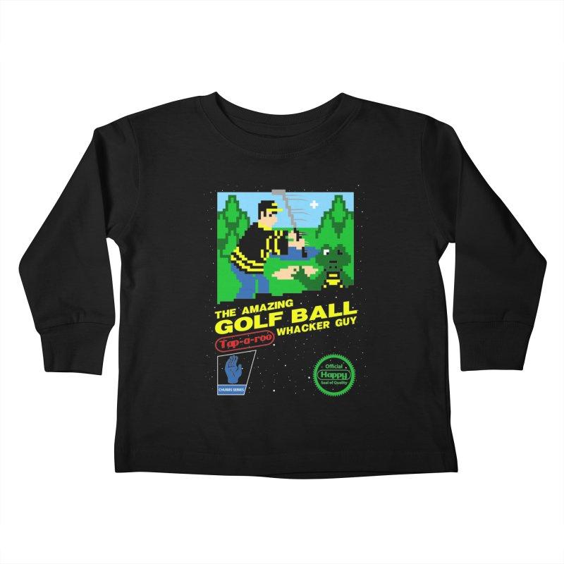 Happy Golf Kids Toddler Longsleeve T-Shirt by coddesigns's Artist Shop