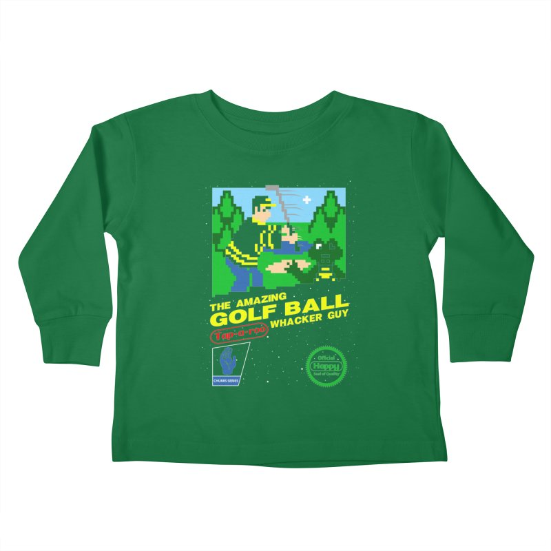Happy Golf Kids Toddler Longsleeve T-Shirt by coddesigns's Artist Shop