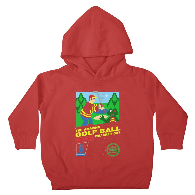 Happy Golf Kids Toddler Pullover Hoody by coddesigns's Artist Shop