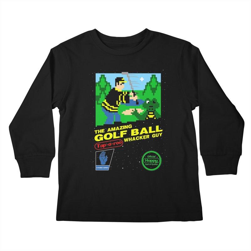 Happy Golf Kids Longsleeve T-Shirt by coddesigns's Artist Shop