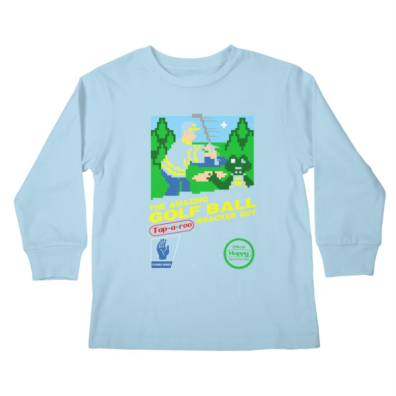 Happy Golf Kids Longsleeve T-Shirt by coddesigns's Artist Shop