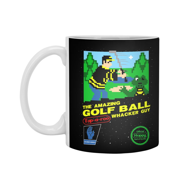 Happy Golf Accessories Mug by coddesigns's Artist Shop