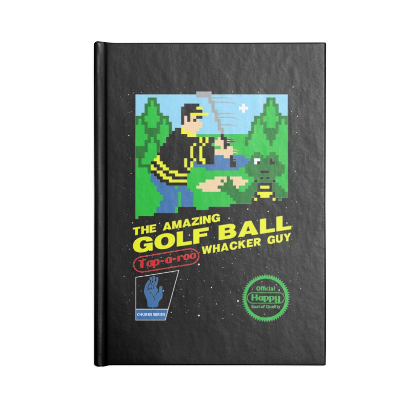 Happy Golf Accessories Notebook by CoD Designs
