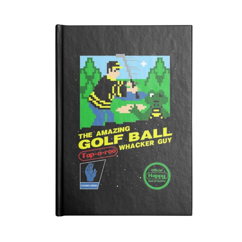 Happy Golf Accessories Notebook by coddesigns's Artist Shop