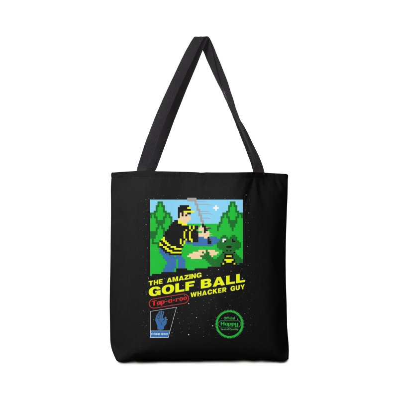 Happy Golf Accessories Bag by coddesigns's Artist Shop