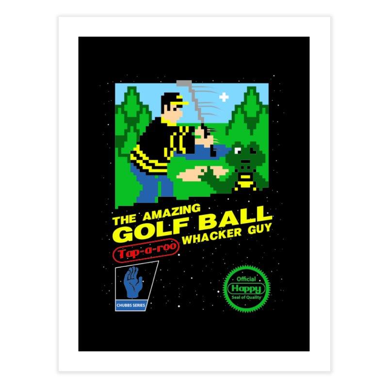 Happy Golf Home Fine Art Print by coddesigns's Artist Shop